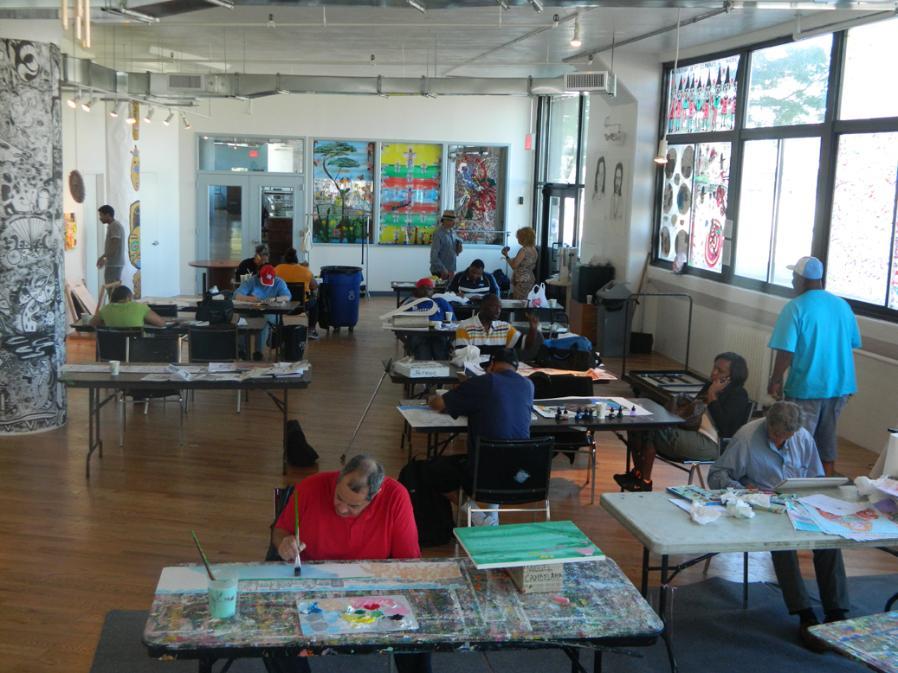 Healing Arts Initiative Art Studio