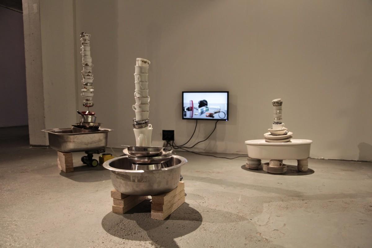 Heini Aho, Standing Alone, Huuto Gallery, 2015