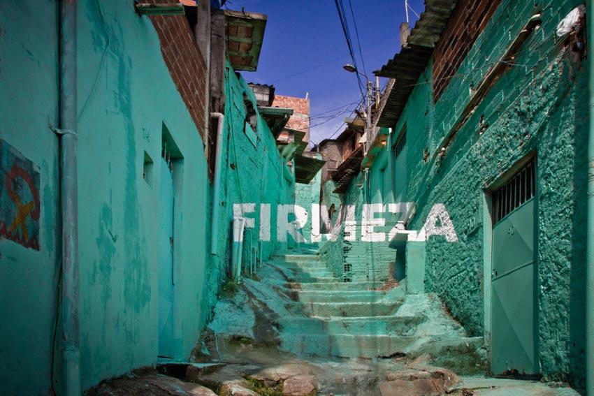 Boa Mistura, Luz nas vielas (Light in the Alleyways), 2012, Sao Paulo, Brazil